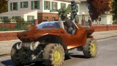 Halo 2 Warthoge EPM para GTA 4