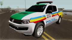 Volkswagen Amarok PMMG IVF para GTA San Andreas