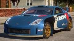 Nissan 350Z Rally Car DiRT2 para GTA 4