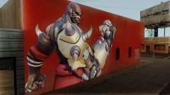 Doomfist Wall para GTA San Andreas