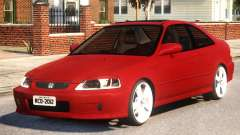 Honda Civic Coupe para GTA 4