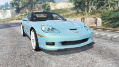 Chevrolet Corvette ZR1 (C6) 2008 v1.1 [replace] para GTA 5
