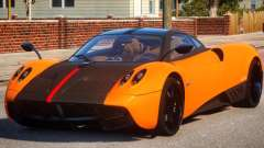 2011 Pagani Huayra Cinque para GTA 4