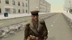 O exército vermelho no Inverno Formulário para GTA San Andreas