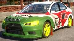 Mitsubishi Lancer EVOX PJ4 para GTA 4