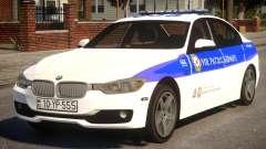 BMW M5 2015 Baku Police para GTA 4