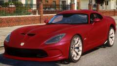 2013 SRT Viper GTS Coupe para GTA 4