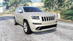 Jeep Grand Cherokee SRT8 (WK2) 2013 [replace] para GTA 5