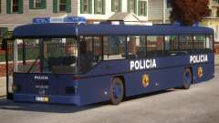 N1 Europe Police Bus Mod MAN 202 para GTA 4