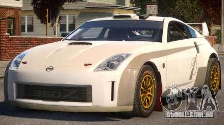 Nissan 350Z Rally Car P2 para GTA 4