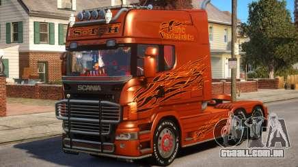 Scania R580 Longline Custom PJ12 para GTA 4