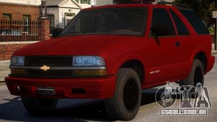 Chevrolet Blazer V1.1 para GTA 4