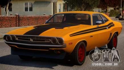 Dodge Challenger 1971 PJ1 para GTA 4