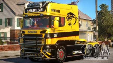 Scania R580 Longline Custom PJ14 para GTA 4
