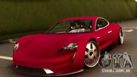Porsche Mission E para GTA San Andreas
