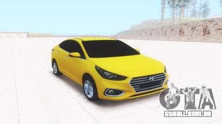 Hyundai Accent (Solaris) 2018 para GTA San Andreas