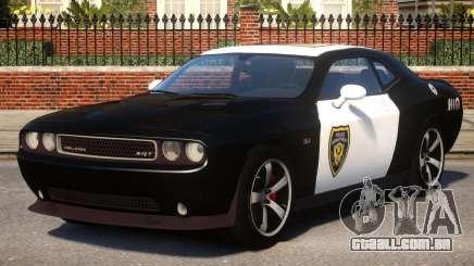 Dodge Challenger SRT8 Police para GTA 4