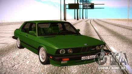 BMW 528E para GTA San Andreas