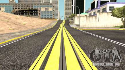 New San Fierro Roads and New Tram Station para GTA San Andreas