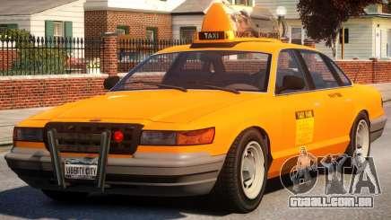 Taxi New York City para GTA 4