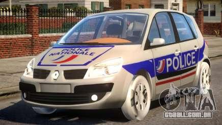 Renault Scenic II Police para GTA 4