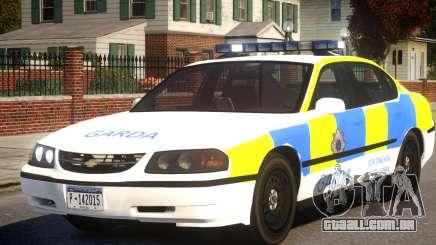 Chevrolet Impala Police para GTA 4