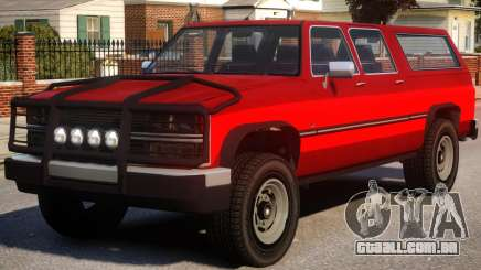 Yosemite SUV Versions para GTA 4