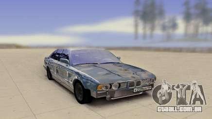 BMW E34 520 Damaged para GTA San Andreas
