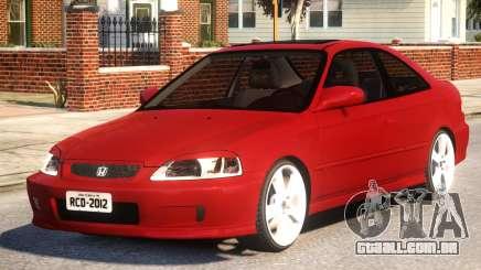 Honda Civic Coupe para GTA 4