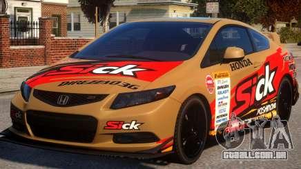 2013 Honda CivicSi PJ2 para GTA 4