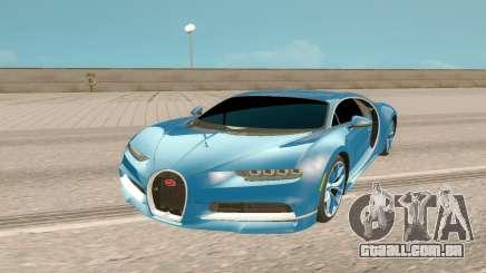Bugatti Chiron Rus Plate para GTA San Andreas