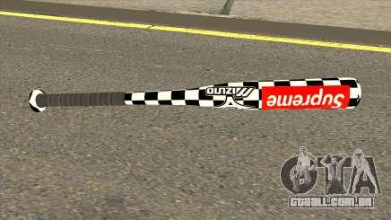 Supreme Baseball Bat para GTA San Andreas