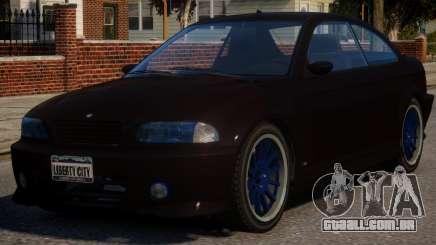 BMW M3 Xenon para GTA 4