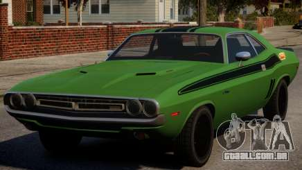 Dodge Challenger 1971 PJ5 para GTA 4