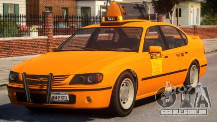 Taxi Vapid New York City para GTA 4