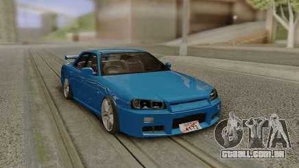 Nissan ER34 1999 para GTA San Andreas