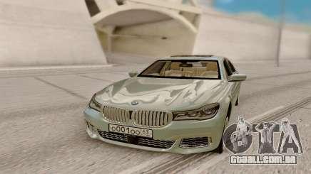 BMW 760LI M V12 para GTA San Andreas