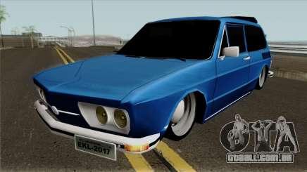 Volkswagen Brasilia Brasilhao para GTA San Andreas
