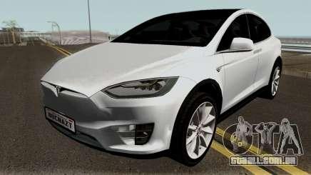 Tesla Model X para GTA San Andreas