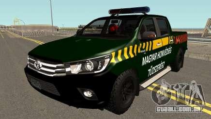 Toyota Hillux - Tuzszeresz para GTA San Andreas