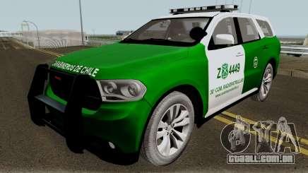 Dodge Durango Carabineros de Chile para GTA San Andreas