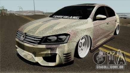 Volkswagen Passat 2011 (Snake) para GTA San Andreas