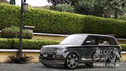 Range Rover SVA para GTA 5