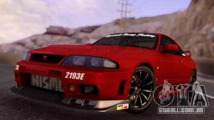 Nissan Skyline R33 GT-R para GTA San Andreas