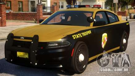 Maryland 2015 Dodge Charger para GTA 4