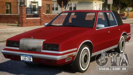 1988 Chrysler New Yorker para GTA 4