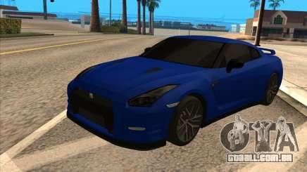 Nissan GT-R 35 para GTA San Andreas
