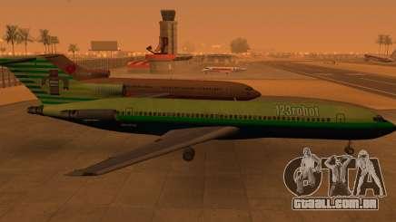 Boeing 727-200: 123robot edição para GTA San Andreas