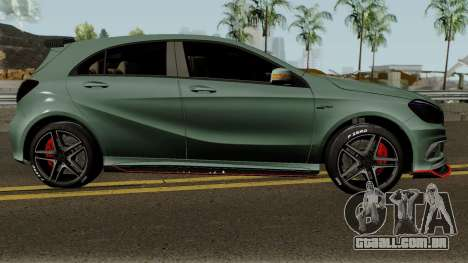 Mercedes-Benz A45 Edition 1 para GTA San Andreas vista traseira