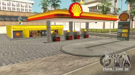 Shell Gas Station Updated para GTA San Andreas